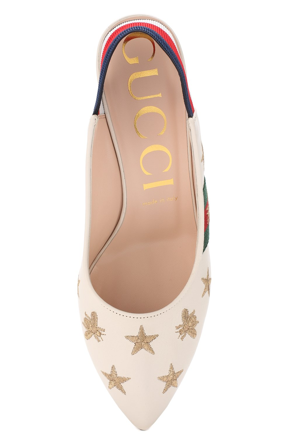 Кожаные туфли Sylvie | Фото №5