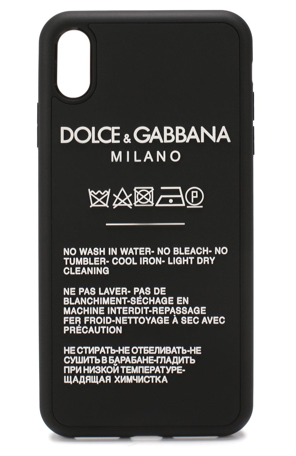 Чехол для iPhone XS Max Dolce & Gabbana  | Фото №1