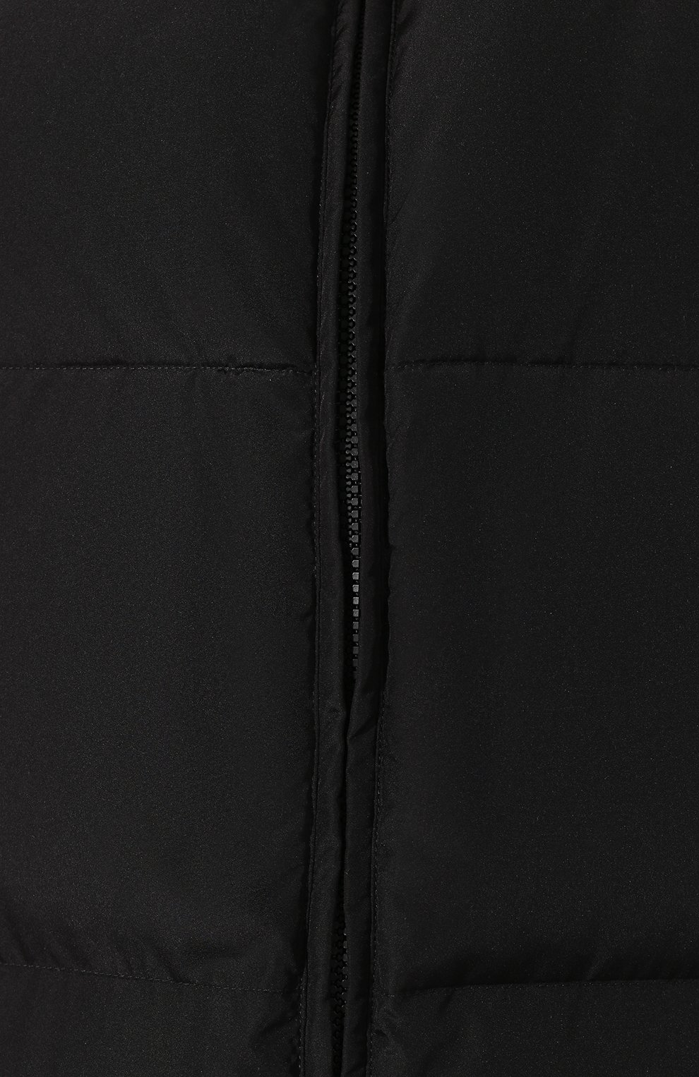 Двусторонний пуховик Fendi черная | Фото №5