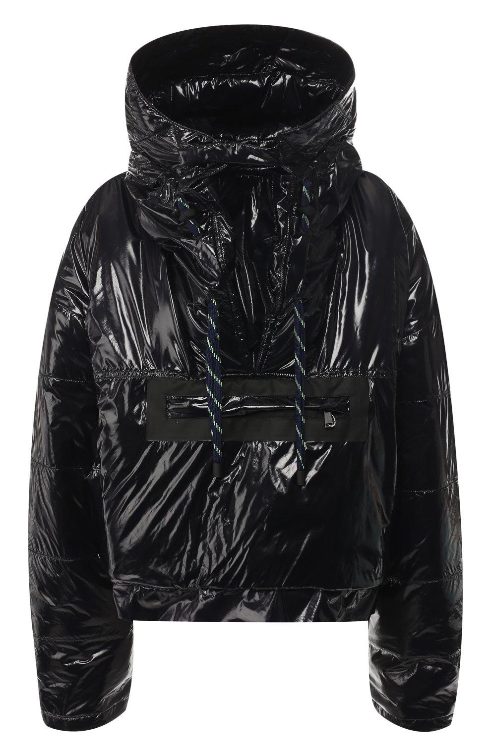 Куртка с капюшоном Maison Margiela черная   Фото №1