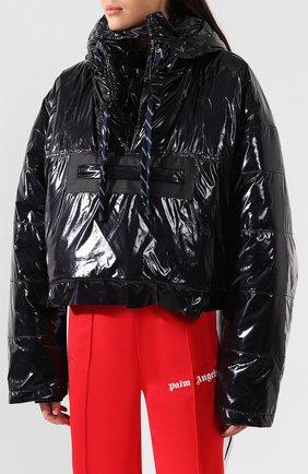 Куртка с капюшоном Maison Margiela черная   Фото №3