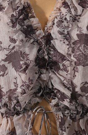 Шелковая блузка Zimmermann    Фото №5