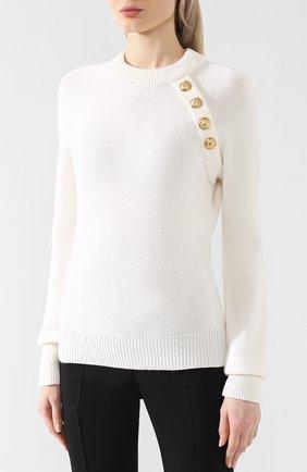 Пуловер из смеси шерсти и кашемира | Фото №3