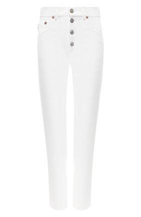 Джинсы прямого кроя Balenciaga белые | Фото №1
