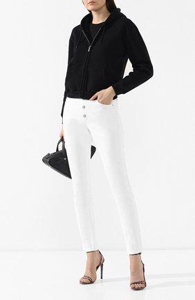 Джинсы прямого кроя Balenciaga белые | Фото №2