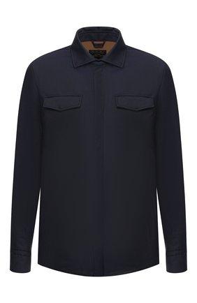 Шерстяная куртка Long Shirt | Фото №1
