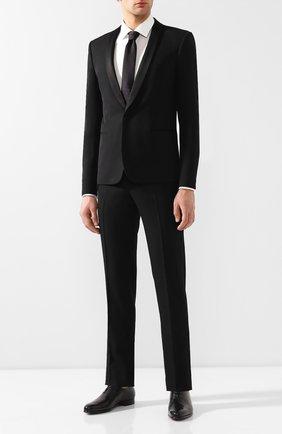 Мужские кожаные оксфорды BERLUTI черного цвета, арт. S4152-003 | Фото 2