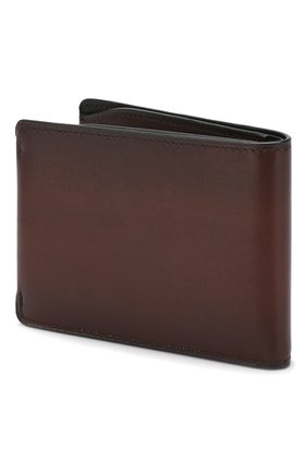 Мужской кожаное портмоне BERLUTI коричневого цвета, арт. N173393 | Фото 2