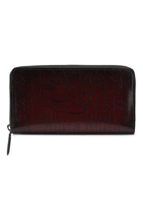Мужской кожаный футляр для документов BERLUTI бордового цвета, арт. N176577 | Фото 1