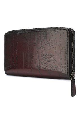 Мужская кожаный футляр для документов BERLUTI бордового цвета, арт. N176577 | Фото 2