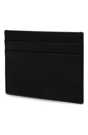 Мужской кожаный футляр для кредитных карт DOLCE & GABBANA черного цвета, арт. BP0330/AZ602 | Фото 2
