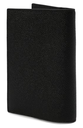 Мужской кожаная обложка для паспорта DOLCE & GABBANA черного цвета, арт. BP2215/AZ602 | Фото 2