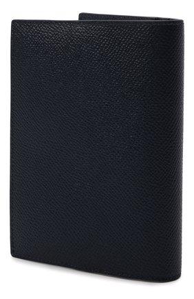 Мужской кожаная обложка для паспорта DOLCE & GABBANA синего цвета, арт. BP2215/AZ602 | Фото 2
