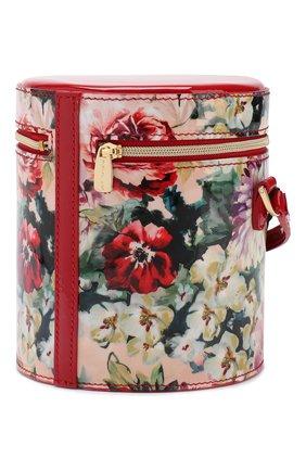 Детская кожаная сумка DOLCE & GABBANA разноцветного цвета, арт. EB0185/A3D81 | Фото 2