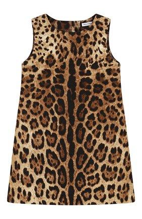 Мини-платье из хлопка и шелка   Фото №1