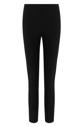 Женские леггинсы с лампасами RAG&BONE черного цвета, арт. W286733TA | Фото 1