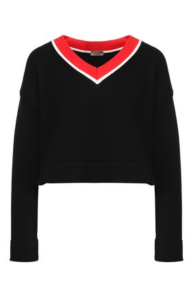 Укороченный пуловер   Фото №1