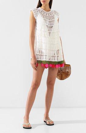 Хлопковое платье My Beachy Side белое | Фото №2