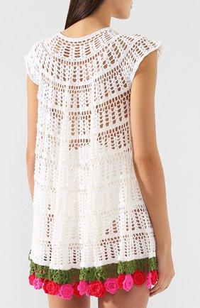 Хлопковое платье My Beachy Side белое | Фото №4