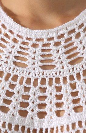 Хлопковое платье My Beachy Side белое | Фото №5