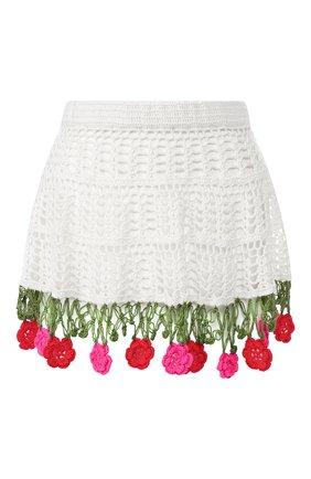 Хлопковая мини-юбка | Фото №1