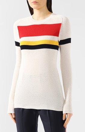 Хлопковый пуловер | Фото №3