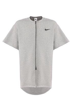 Хлопковая футболка Nike x Fear of God | Фото №1
