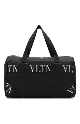 Текстильная дорожная сумка Valentino Garavani VLTN | Фото №1