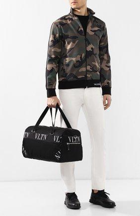 Текстильная дорожная сумка Valentino Garavani VLTN | Фото №2