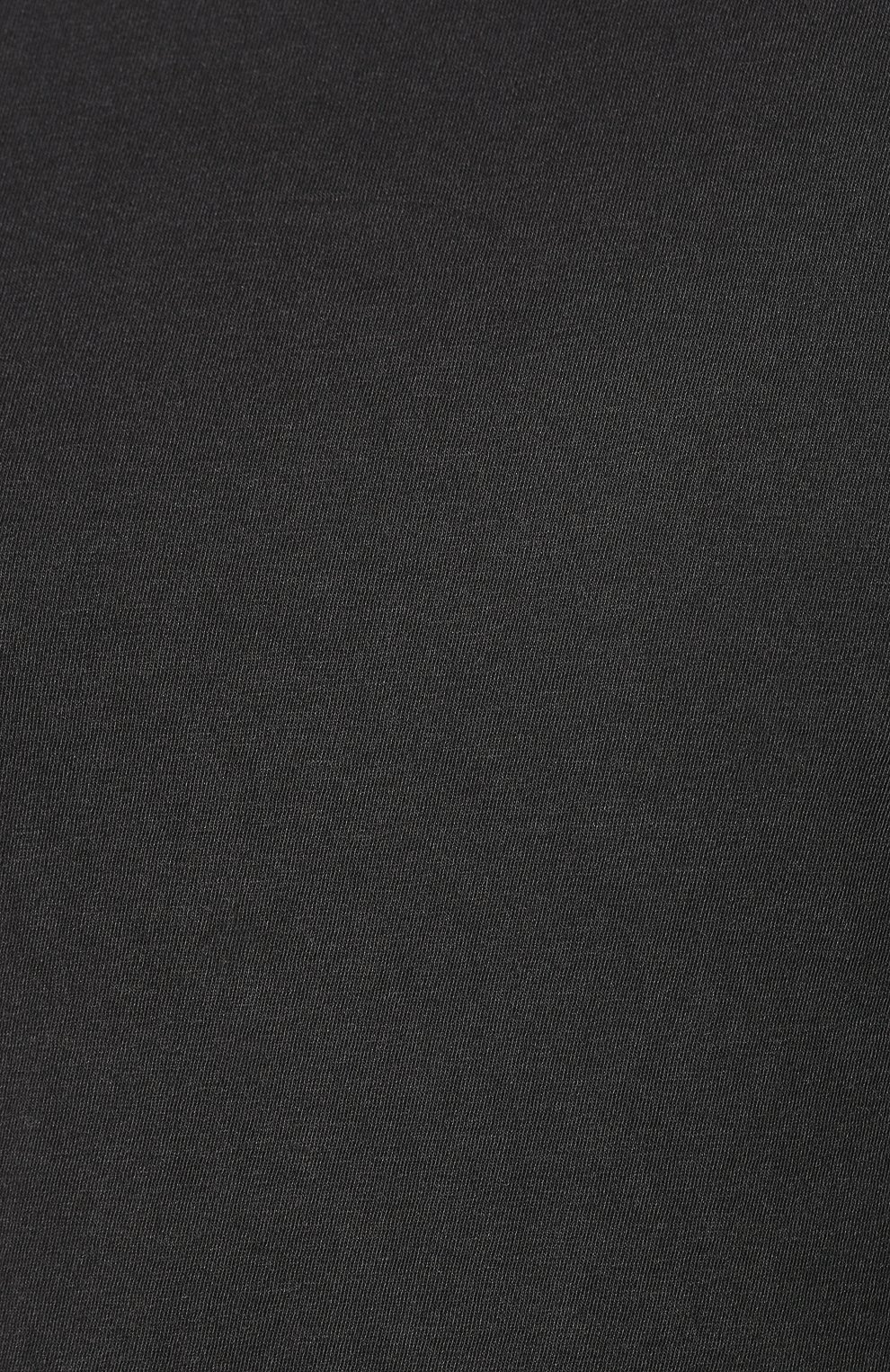Мужская хлопковая футболка JAMES PERSE серого цвета, арт. MLJ3311 | Фото 5