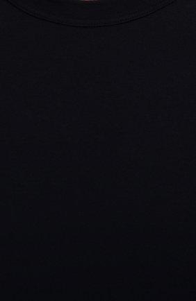 Мужская хлопковый лонгслив JAMES PERSE темно-синего цвета, арт. MLJ3351 | Фото 5 (Рукава: Длинные; Принт: Без принта; Длина (для топов): Стандартные; Материал внешний: Хлопок; Мужское Кросс-КТ: Лонгслив-одежда; Стили: Кэжуэл; Статус проверки: Проверена категория)