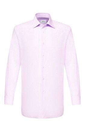 Мужская хлопковая сорочка BRIONI сиреневого цвета, арт. RCLU36/PZ005 | Фото 1