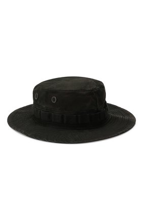 Мужская хлопковая шляпа RRL черного цвета, арт. 782732734 | Фото 2