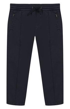 Хлопковые брюки на кулиске | Фото №1