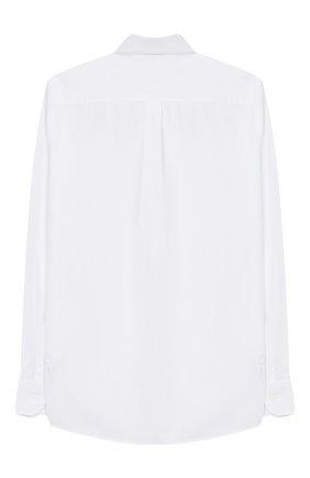 Детская хлопковая рубашка DOLCE & GABBANA белого цвета, арт. L42S81/G7RZN/2-6 | Фото 2
