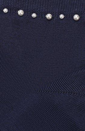 Детские хлопковые носки LA PERLA синего цвета, арт. 42045/9-12 | Фото 2