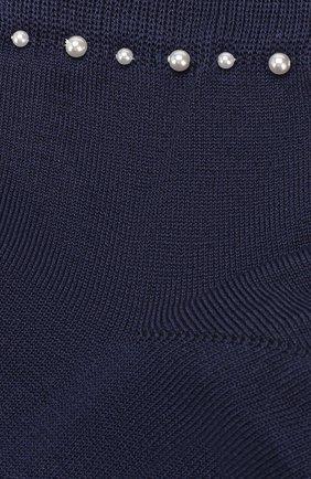 Детские хлопковые носки LA PERLA синего цвета, арт. 42045/7-8 | Фото 2