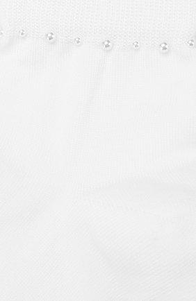 Детские хлопковые носки LA PERLA белого цвета, арт. 42045/7-8 | Фото 2