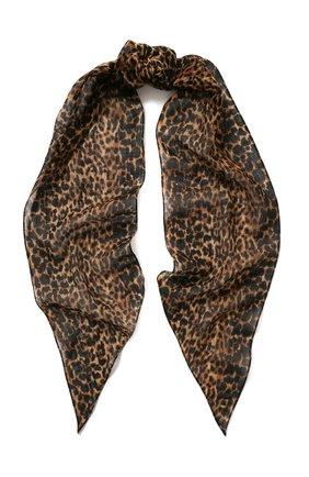 Шерстяной шарф-бандо | Фото №1