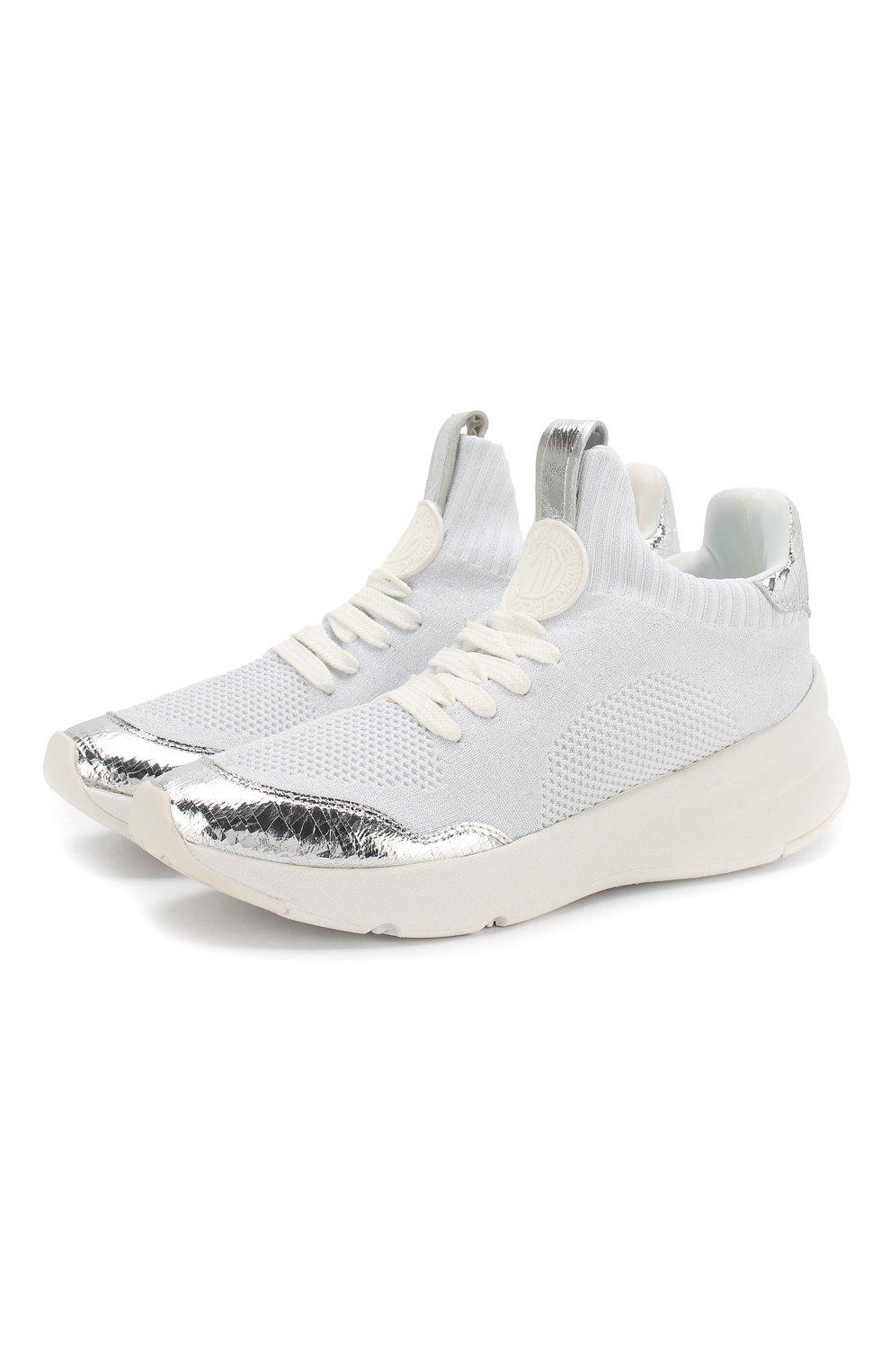 Текстильные кроссовки Pamela | Фото №1