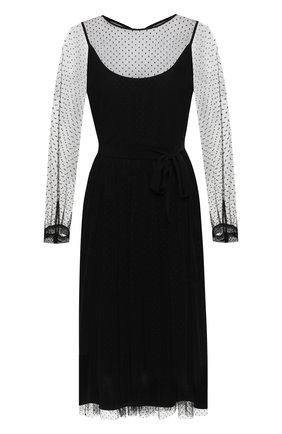 Платье с сеткой | Фото №1