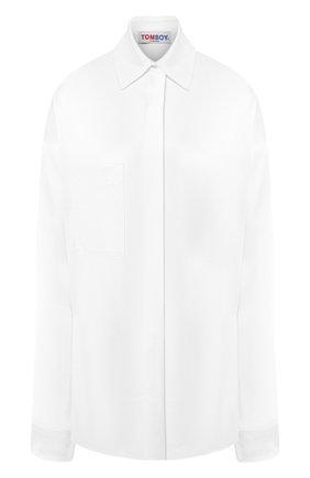 Рубашка с накладным карманом   Фото №1