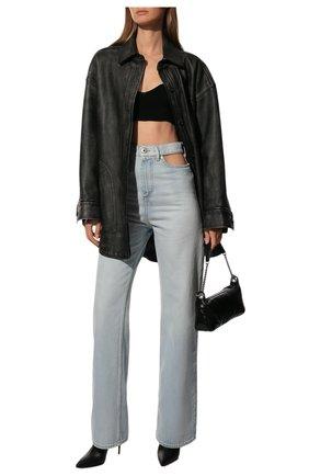 Женские джинсы свободного кроя MAISON MARGIELA голубого цвета, арт. S51LA0064/S30513   Фото 2
