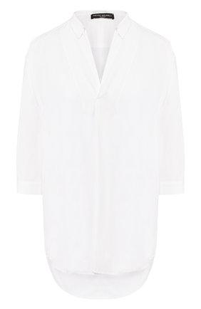 Женская блузка из вискозы PIETRO BRUNELLI белого цвета, арт. CA0207/VI2905 | Фото 1