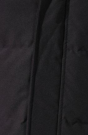 Мужская пуховая парка macmillan CANADA GOOSE темно-синего цвета, арт. 3804M | Фото 5