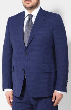 Мужской шерстяной костюм CANALI темно-синего цвета, арт. 11280/19/AR02031/60-64   Фото 2