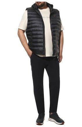 Мужской пуховый жилет PAUL&SHARK темно-синего цвета, арт. C0P2007/GTX/3XL-6XL | Фото 2