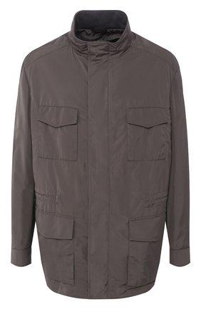 Мужская куртка BRIONI темно-зеленого цвета, арт. SFNC0L/P8805 | Фото 1