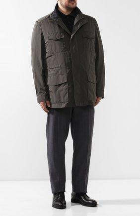 Мужская куртка BRIONI темно-зеленого цвета, арт. SFNC0L/P8805 | Фото 2