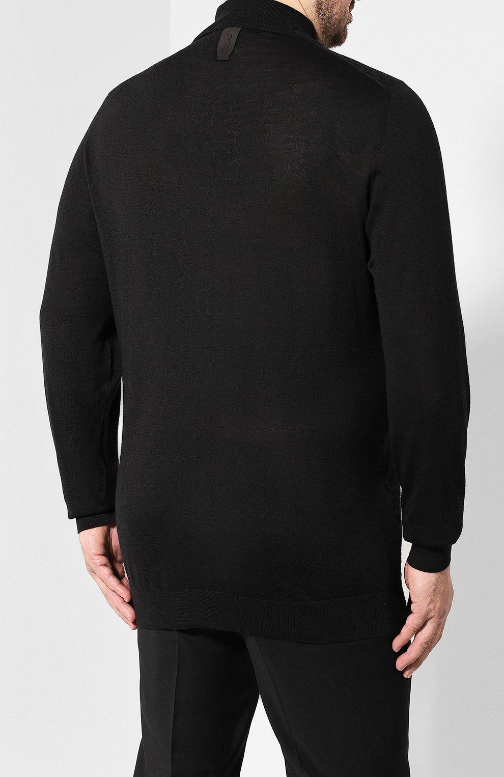 Джемпер из смеси шерсти и шелка | Фото №4
